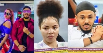 'He Has No Shame' - Read Why Viewers Are Slamming Ozo Over His 'Meat Fight' With Nengi (Photos)